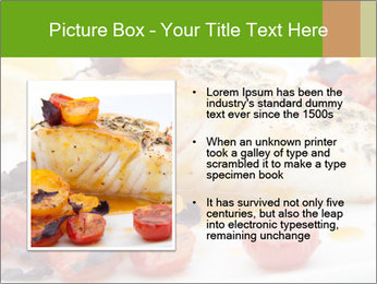 Pan fried halibut PowerPoint Template - Slide 13