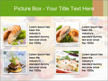 Pan fried halibut PowerPoint Template - Slide 14