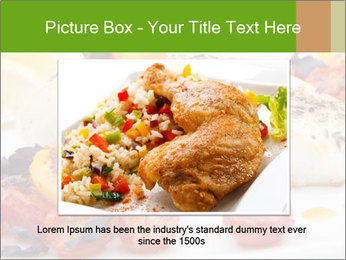 Pan fried halibut PowerPoint Template - Slide 16