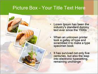 Pan fried halibut PowerPoint Template - Slide 17