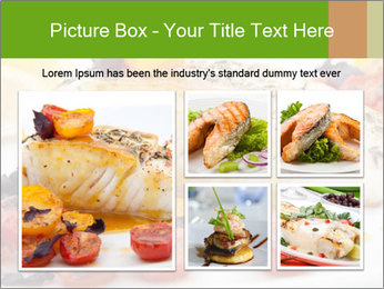 Pan fried halibut PowerPoint Template - Slide 19