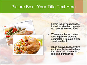 Pan fried halibut PowerPoint Template - Slide 20