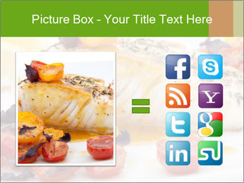 Pan fried halibut PowerPoint Template - Slide 21