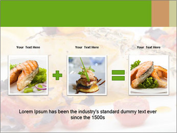 Pan fried halibut PowerPoint Template - Slide 22