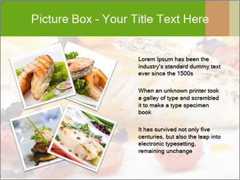 Pan fried halibut PowerPoint Template - Slide 23