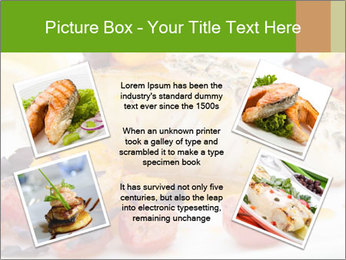 Pan fried halibut PowerPoint Template - Slide 24