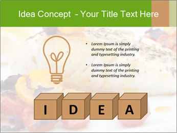 Pan fried halibut PowerPoint Template - Slide 80