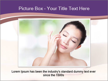 Attractive woman smile PowerPoint Template - Slide 16