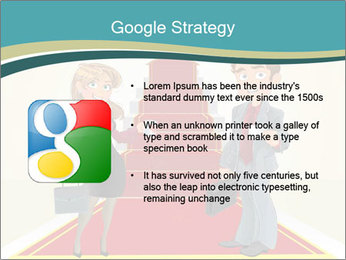 Businessman and business woman PowerPoint Templates - Slide 10