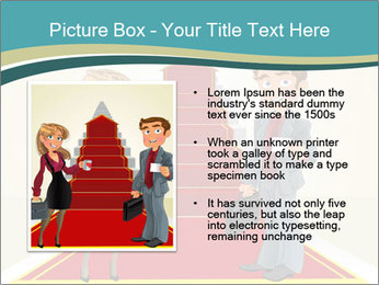 Businessman and business woman PowerPoint Templates - Slide 13