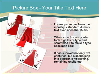 Businessman and business woman PowerPoint Templates - Slide 17
