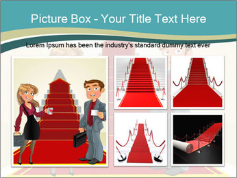 Businessman and business woman PowerPoint Templates - Slide 19