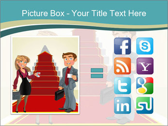 Businessman and business woman PowerPoint Templates - Slide 21