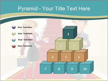 Businessman and business woman PowerPoint Templates - Slide 31