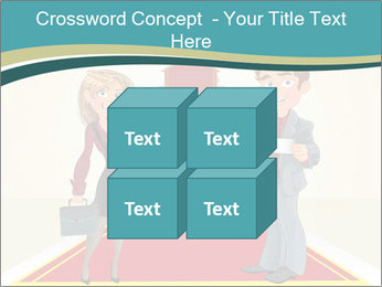 Businessman and business woman PowerPoint Templates - Slide 39