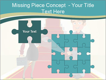 Businessman and business woman PowerPoint Templates - Slide 45