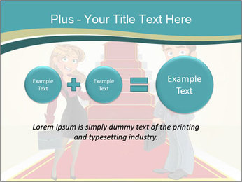 Businessman and business woman PowerPoint Templates - Slide 75