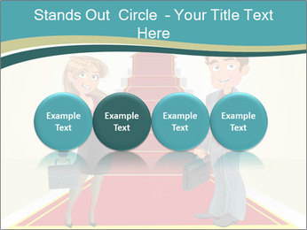 Businessman and business woman PowerPoint Templates - Slide 76