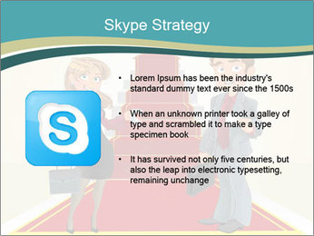 Businessman and business woman PowerPoint Templates - Slide 8