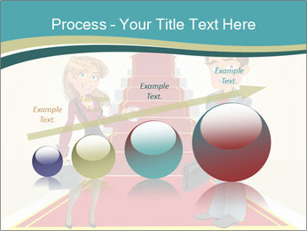 Businessman and business woman PowerPoint Templates - Slide 87
