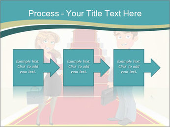 Businessman and business woman PowerPoint Templates - Slide 88