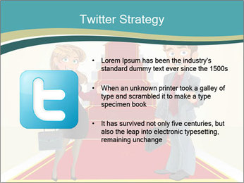 Businessman and business woman PowerPoint Templates - Slide 9