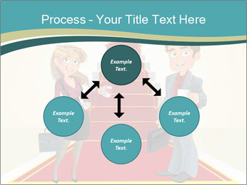 Businessman and business woman PowerPoint Templates - Slide 91