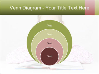 Cute schoolgirl PowerPoint Template - Slide 34
