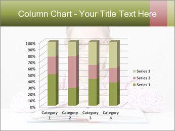 Cute schoolgirl PowerPoint Template - Slide 50