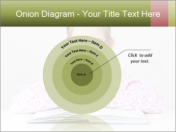 Cute schoolgirl PowerPoint Template - Slide 61