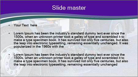 Street sweeper PowerPoint Template - Slide 2