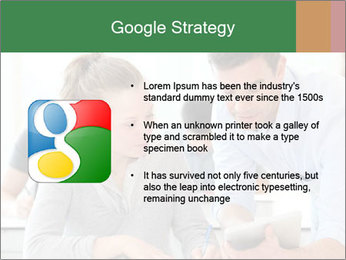 Teacher with student PowerPoint Template - Slide 10