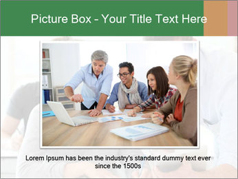 Teacher with student PowerPoint Template - Slide 15