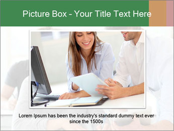 Teacher with student PowerPoint Template - Slide 16