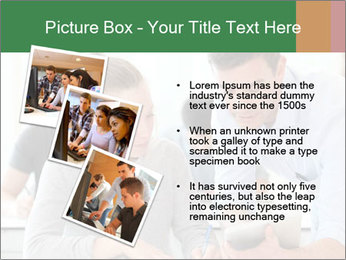 Teacher with student PowerPoint Template - Slide 17