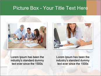 Teacher with student PowerPoint Template - Slide 18