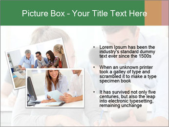 Teacher with student PowerPoint Template - Slide 20