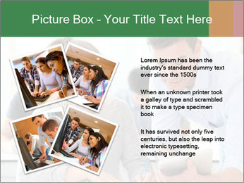 Teacher with student PowerPoint Template - Slide 23