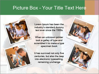 Teacher with student PowerPoint Template - Slide 24