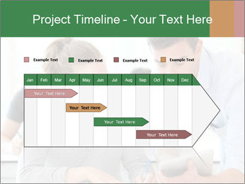 Teacher with student PowerPoint Template - Slide 25