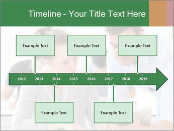 Teacher with student PowerPoint Template - Slide 28