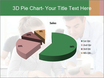 Teacher with student PowerPoint Template - Slide 35
