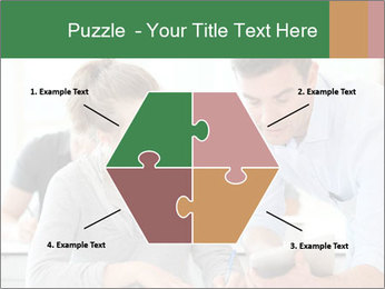 Teacher with student PowerPoint Template - Slide 40