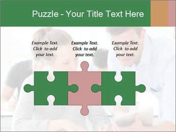 Teacher with student PowerPoint Template - Slide 42
