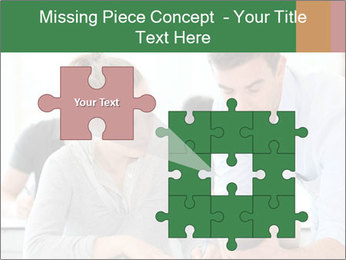 Teacher with student PowerPoint Templates - Slide 45