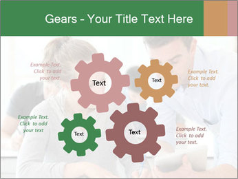 Teacher with student PowerPoint Template - Slide 47