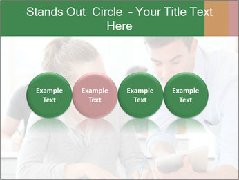 Teacher with student PowerPoint Template - Slide 76