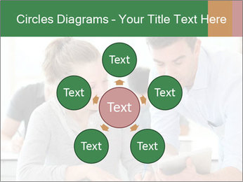 Teacher with student PowerPoint Template - Slide 78