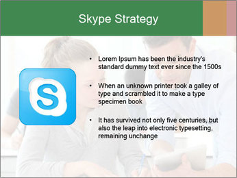 Teacher with student PowerPoint Template - Slide 8