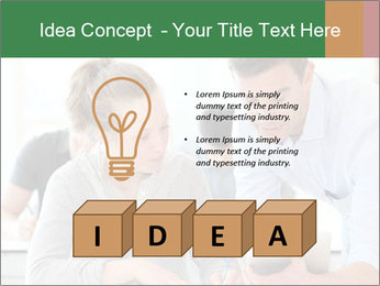 Teacher with student PowerPoint Templates - Slide 80